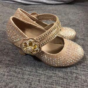 Rhinestone dress shoes